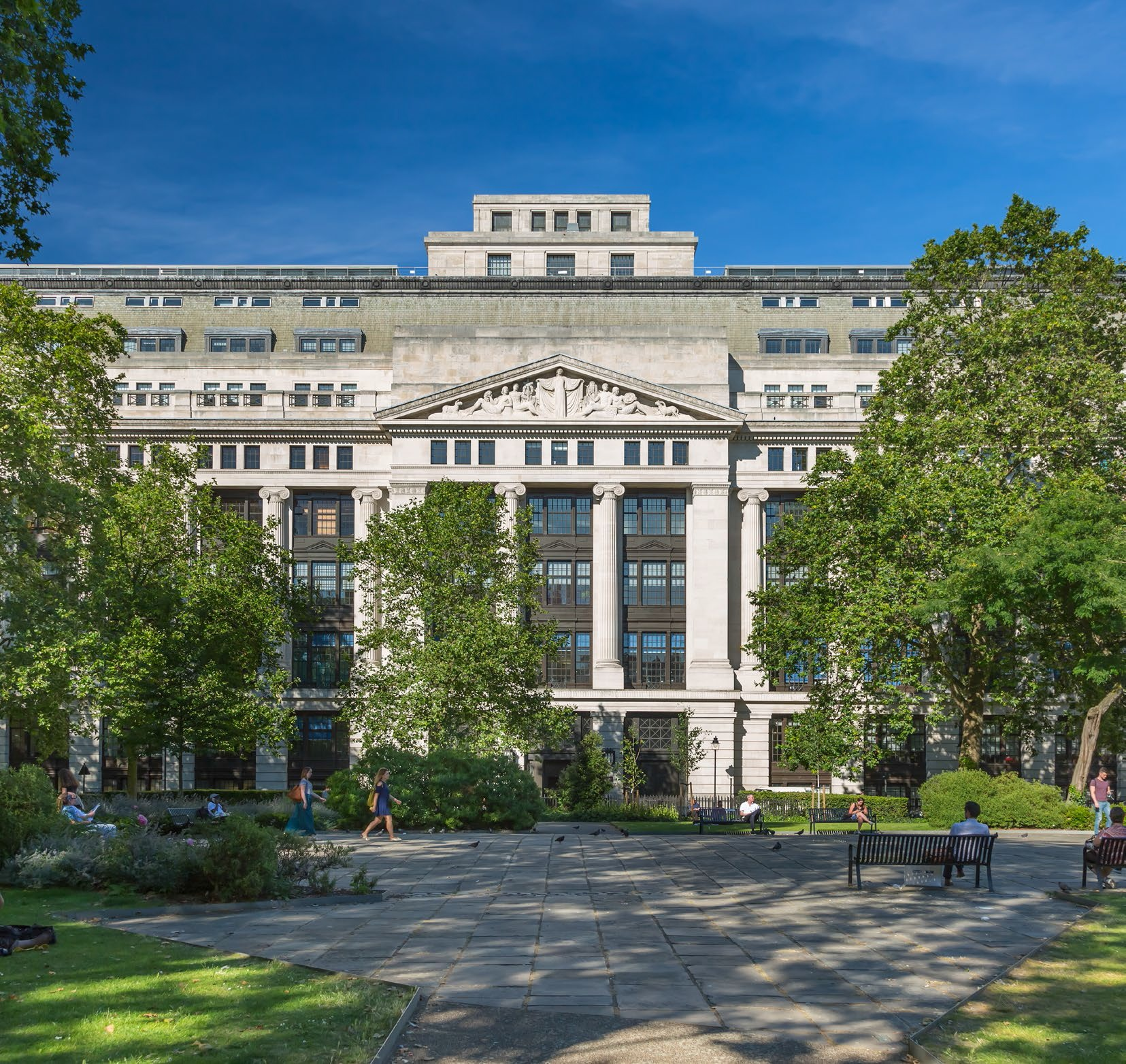 Photo of Victoria House, Bloomsbury Square, London WC1