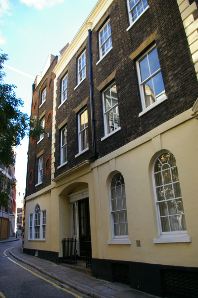 Apothecaries' Hall<br> The Houses<br> 16-18 Blackfriars Lane