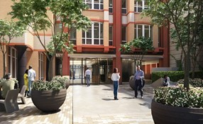 Photo of Fetter Yard. 86 Fetter Lane, EC4